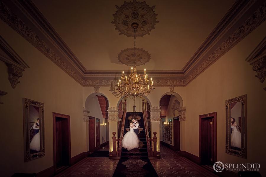 Laura and Francesco at Curzon Hall Wedding -2