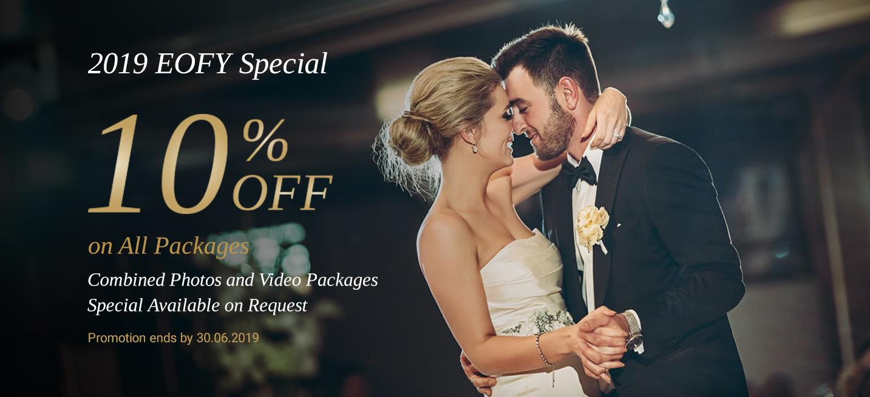 Wedding Photographer Sydney - Current Promotion