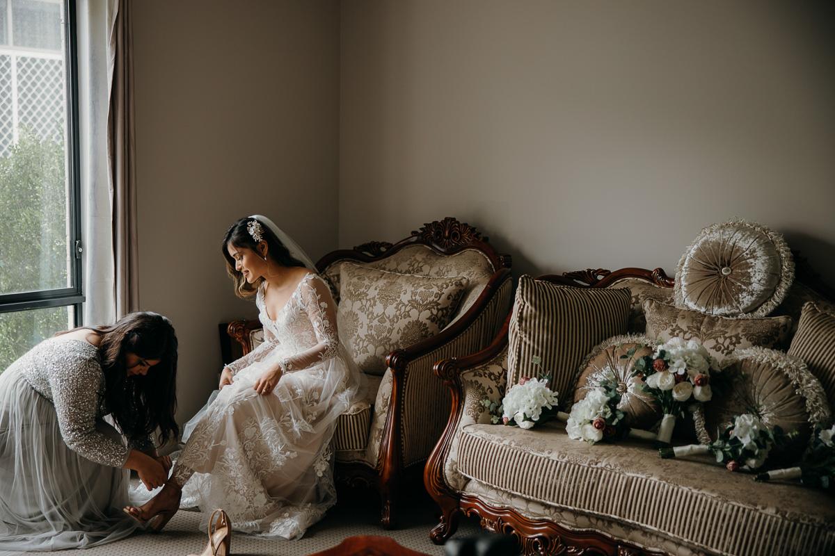 The Grounds Wedding for Ali & Ishita 9