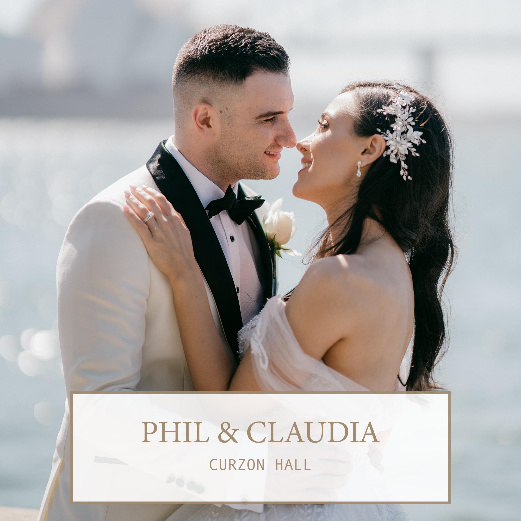 Curzon Hall Wedding: Phil & Claudia 1
