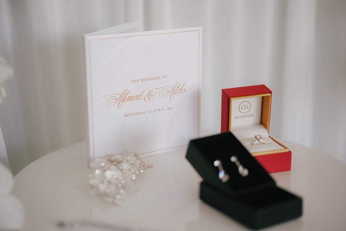 Curzon Hall Wedding: Aleksandra & Ahmed 2