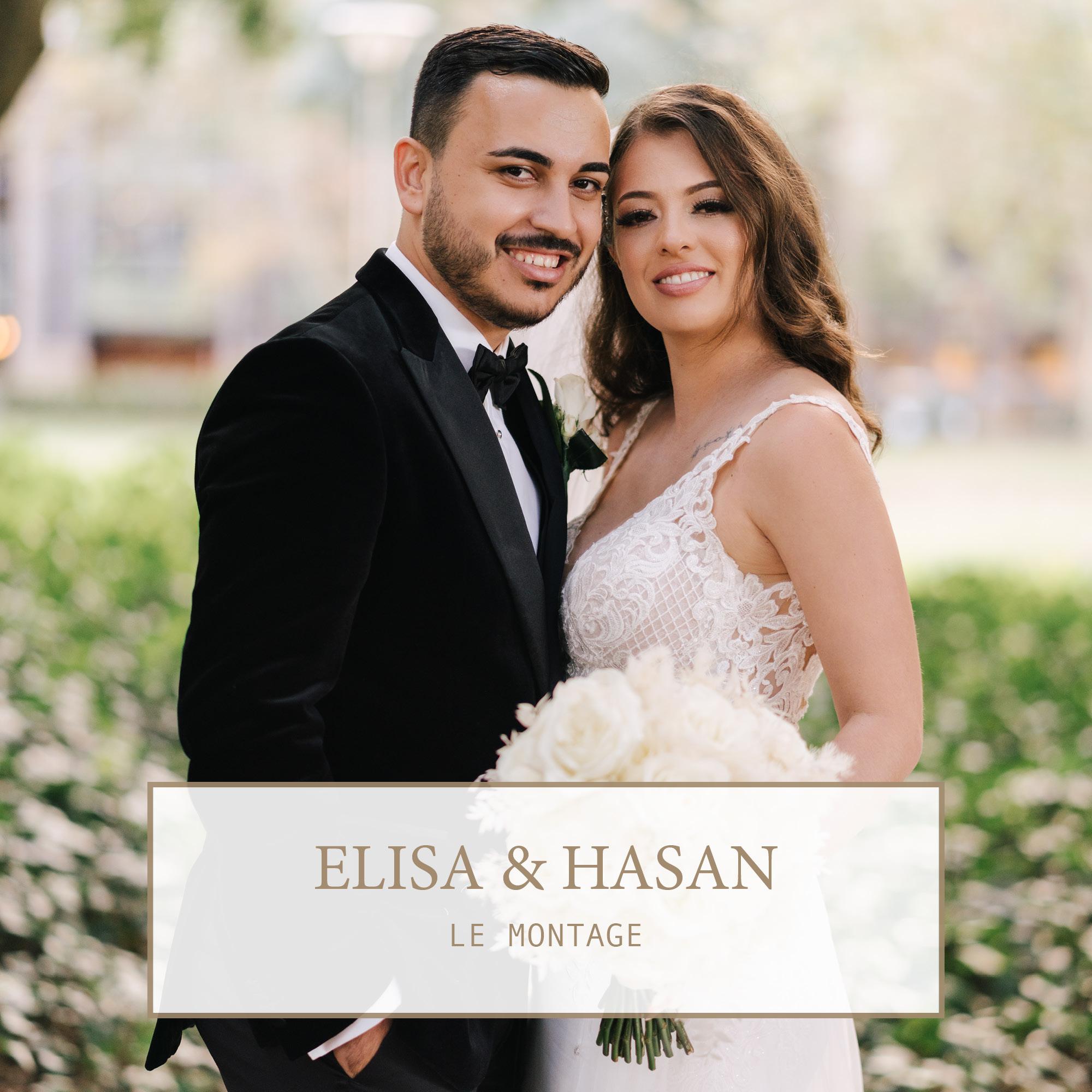 Le Montage Wedding: Elisa & Hasan 1