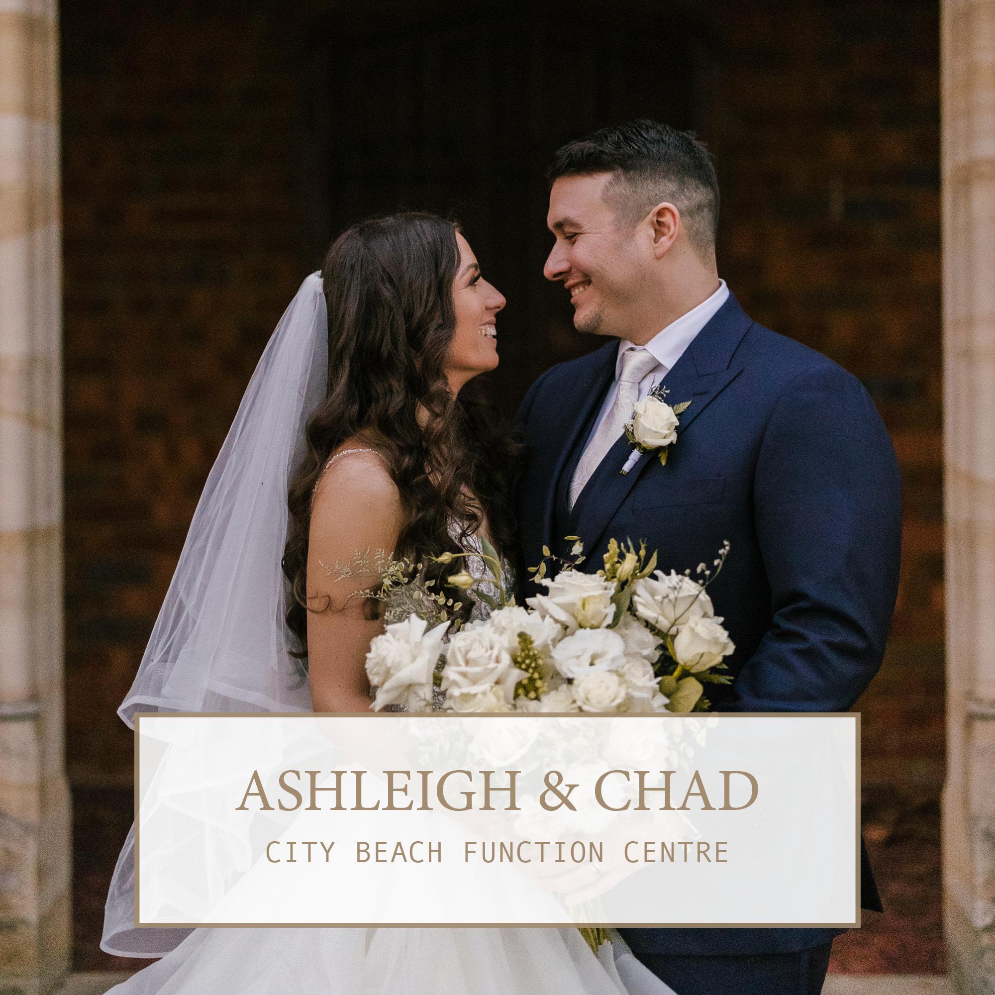 City Beach Function Centre Wedding: Ashleigh & Chad 1