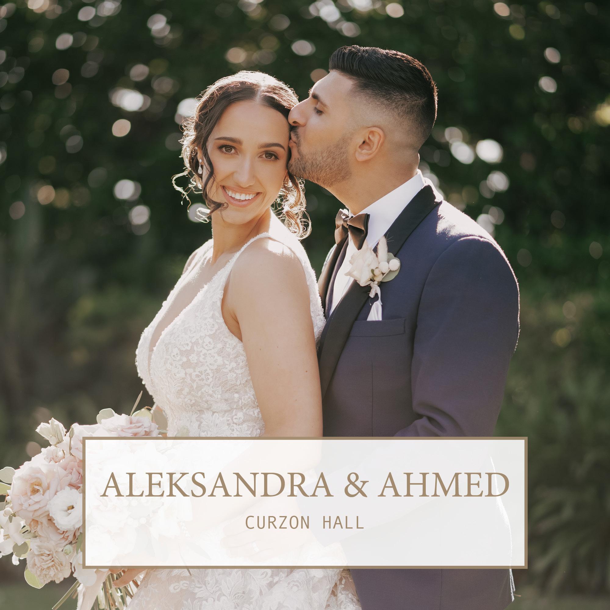 Curzon Hall Wedding: Aleksandra & Ahmed 1
